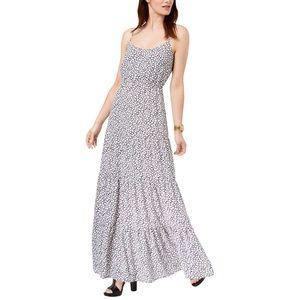 Michael Kors black and white Maxi Dress